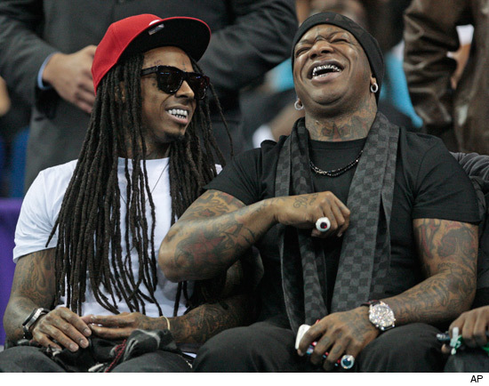 Lil Wayne and Birdman Take Their Talents to the Oil Spill
